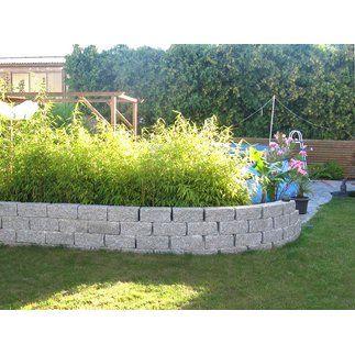 """Leichter Aufbau • Ökologisch beschichteter Mauerstein ✓ Trockenmauer """"Siola leicht"""" Granit-Optik 15 cm x 16,5 cm im OBI Online-Shop kaufen"""