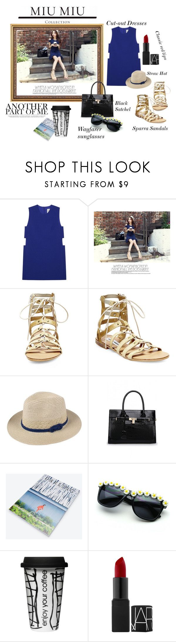 Shoulder Cut-Down by iris234 on Polyvore featuring Mason by Michelle Mason, Steve Madden, Dot & Bo and Ann Taylor