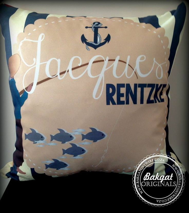 Personalised children's bedroom theme cushion