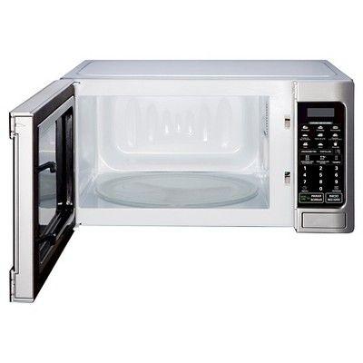 LG 1.1 Cu. Ft. 1000 Watt Microwave Oven - White LCS1112SW