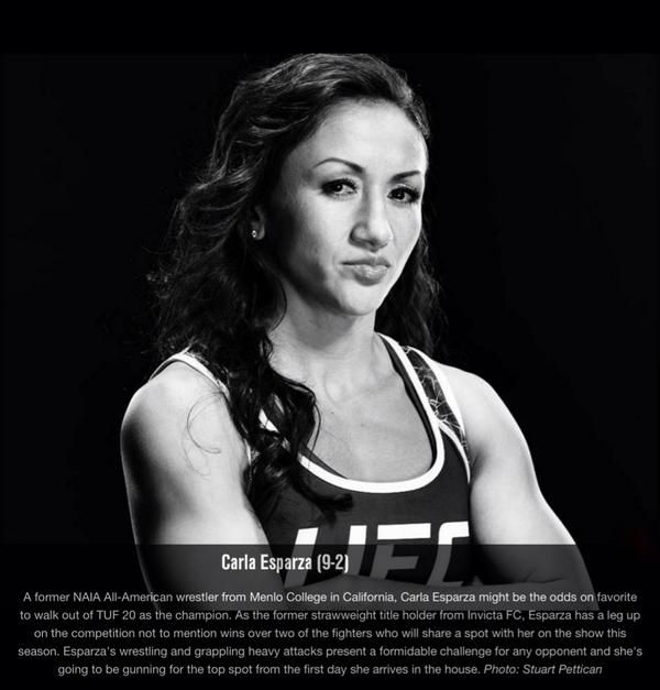 Watch me on this season of The Ultimate Fighter on FOX Sports1 ! Premiere date September 10th! #TUF20