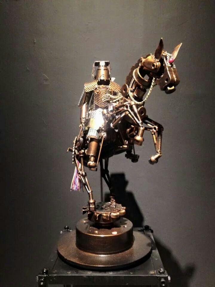 Steampunk samurai on horse.   Geishas, gothic,steampunk ...