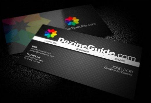 30 Creative Free Business Card Templates - SaveDelete