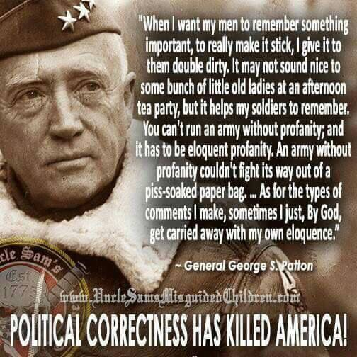 General George S. Patton Quote #DoorKickersInc