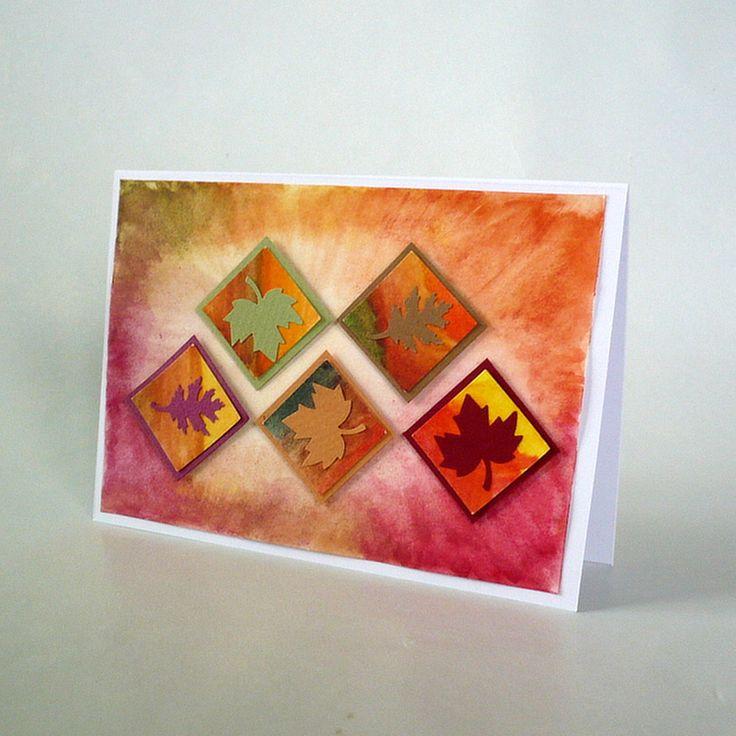 card autumn theme - sheets, autumn