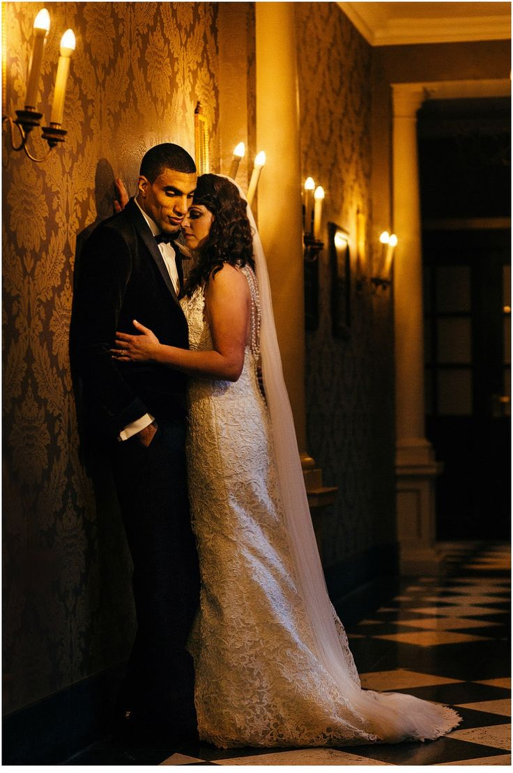 Black Tie wedding at Oulton Hall, Leeds.  Gorgeous couple portrait. www.pauljosephphotography.co.uk