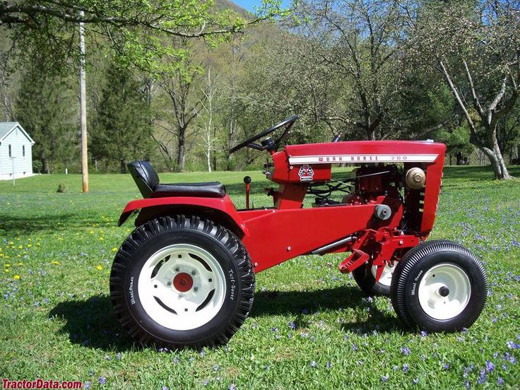 Best Wheel Horse Tractors : Best wheel horse images on pinterest old tractors