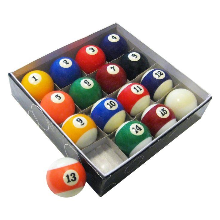 Hathaway Pool Table Regulation Billiard Ball Set - BG2545