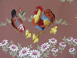 Poultry themed wallpaper - love.com
