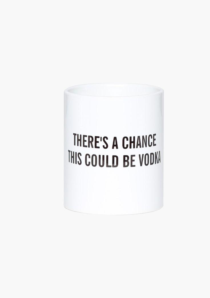 Chance of Vodka Mug