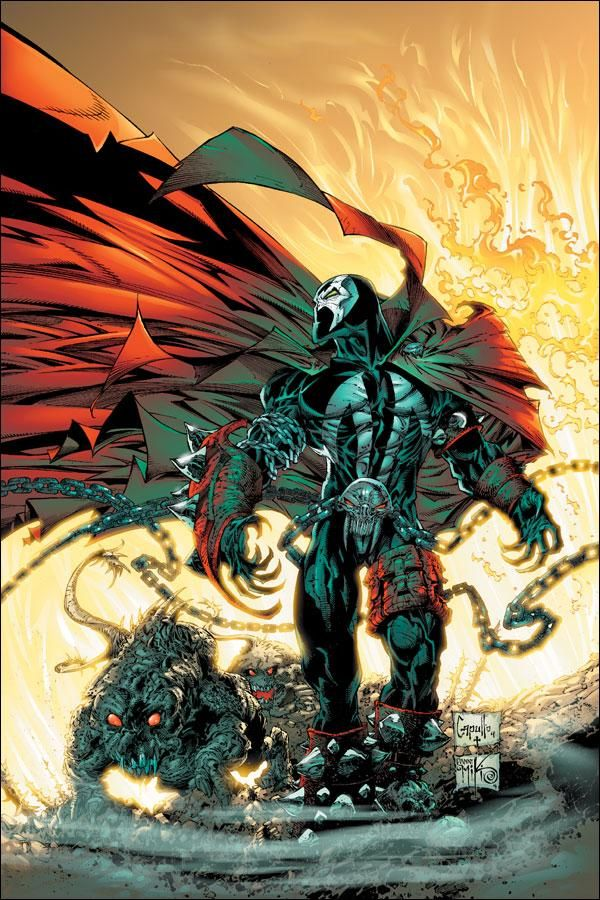 Spawn by Greg Capullo & Danny MiKi