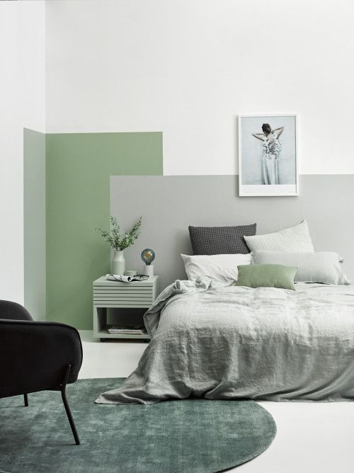 Pile Your Bed High With Soft Linens And Warm Your Floor With An Area Rug For Added Comfort Wall And F In 2020 Bedroom Wall Designs Bedroom Interior Bedroom Wall Paint