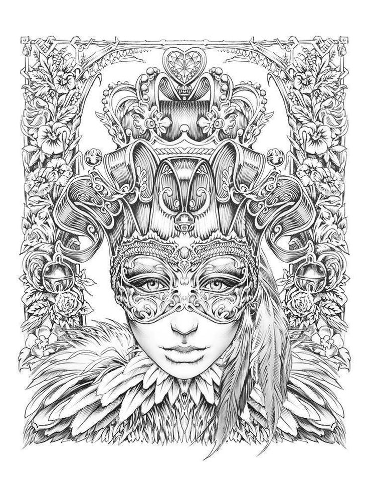 1000 images about pages to color on pinterest for Bennett klein coloring pages