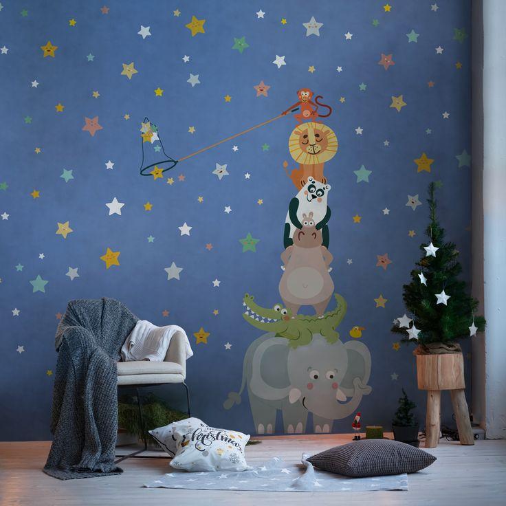 Baby Interior Design Wallpaper •Carte da parati su misura