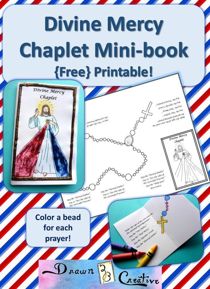 Divine Mercy Mini Book badge