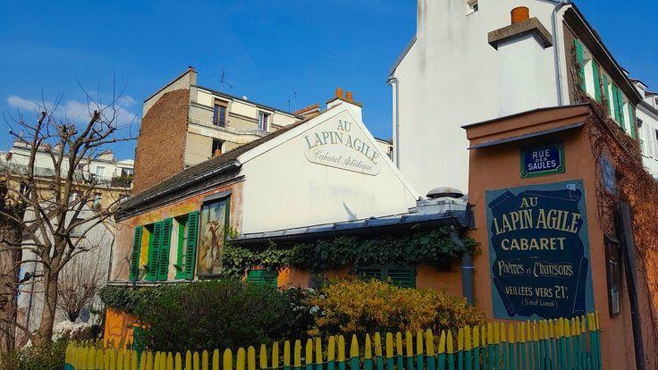 Lapin Agile, 22 rue des Saules, Montmartre