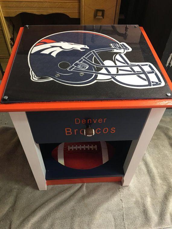 $185. Denver Broncos - sports furniture - man cave - sports decor - football - football furniture - college furniture - college - birthday gifts