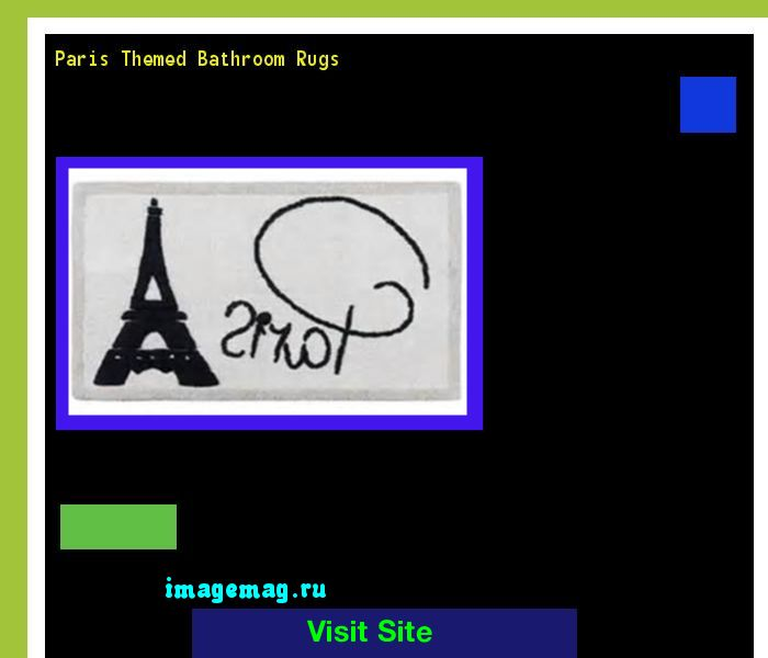 Paris Themed Bathroom Rugs 095423 - The Best Image Search