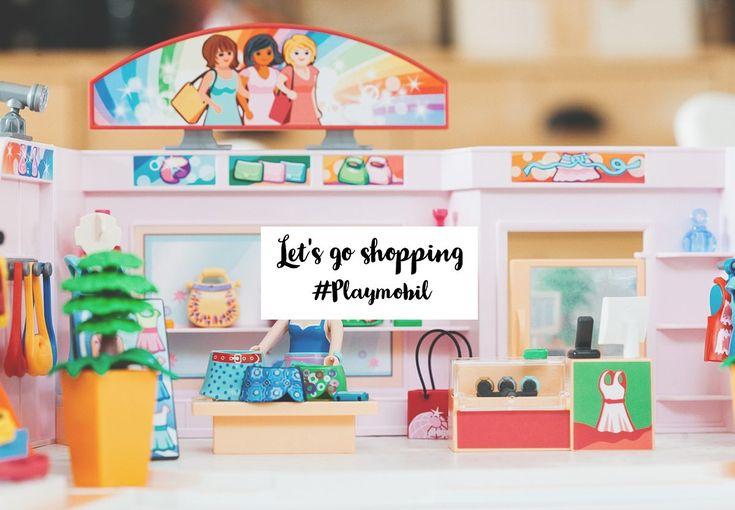 Let's go shopping avec la galerie marchande de Playmobil