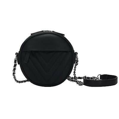Jan 1, 2020 - Womens Round Bag Shoulder Bag Shoulder Bag Leather Crossover Bag: £10.69 (0 Bids)End Date: 12-Jul 01:17Bid now   Add… #tasche #backpack #bag