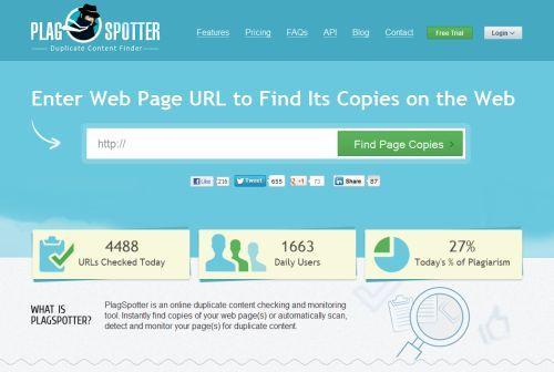 Plagspotter - Plagiate im Internet aufspüren
