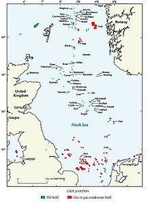 List of oil and gas fields of the North Sea - Wikipedia