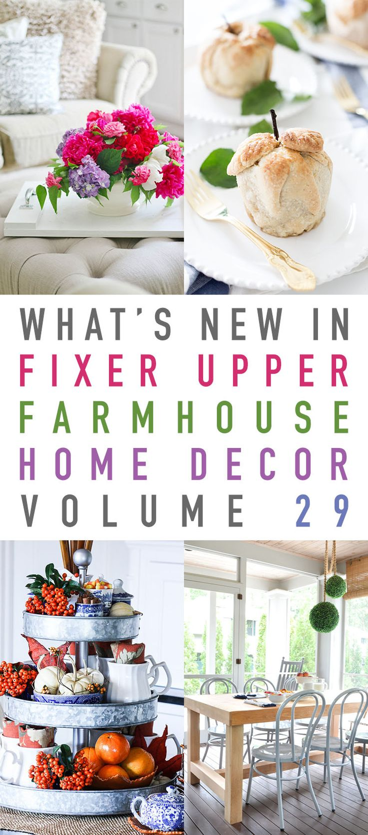 What's New In Fixer Upper Farmhouse Home Decor Volume 29 - The Cottage Market