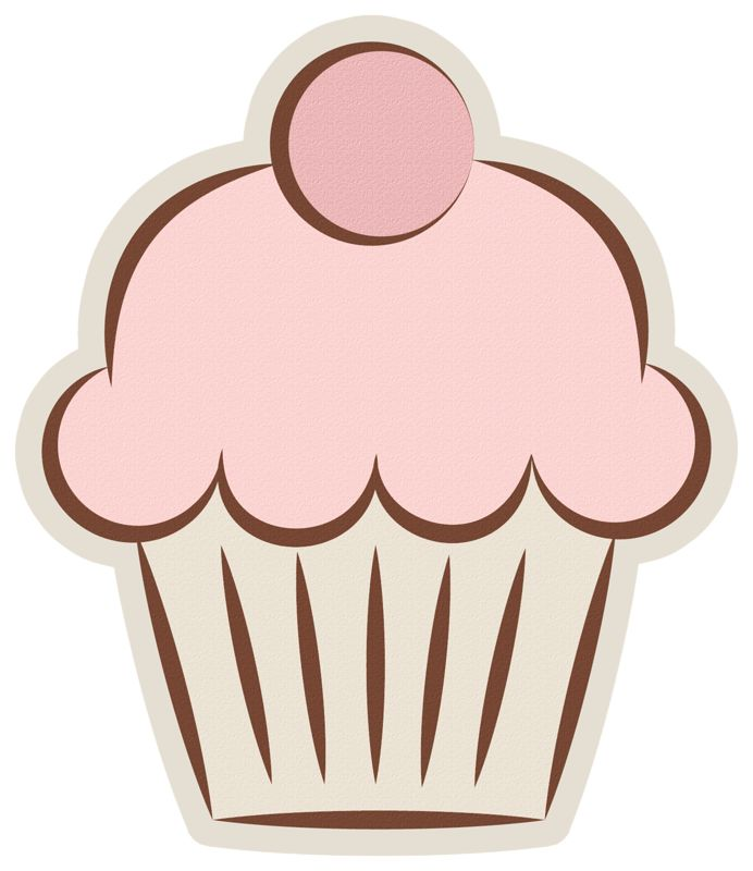 240 Best Clip Art Cupcakes Clipart Images On Pinterest Cupcake Art Cup Cakes And Cupcake