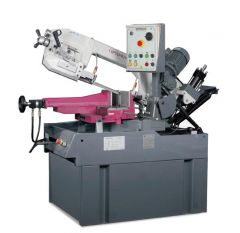 Optimum SD 350 AV Yarı Otomatik Şerit Testere Makinası (Sulu Kesim)