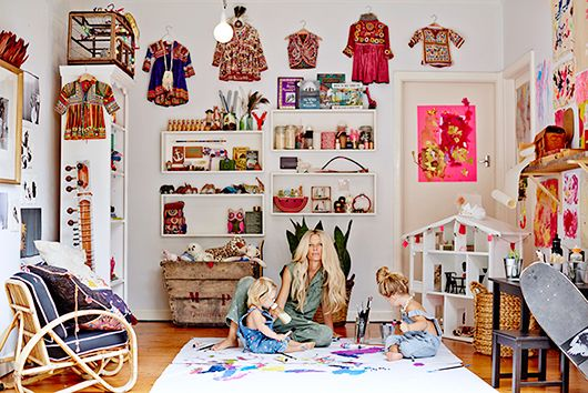 Kids play room captain and the gypsy kid. / sfgirlbybay