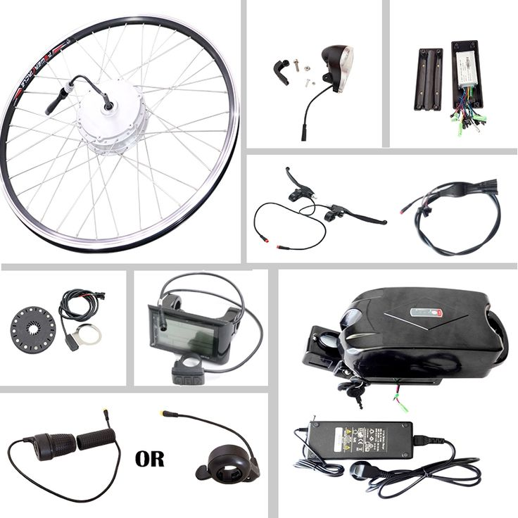 154.69$  Watch more here  - JS Electric Bike Kit Motor Brushless 500w 36v 10ah lithium battery 250W 350W for 20'' 26'' 700c with LED LCD Bicycle Computer