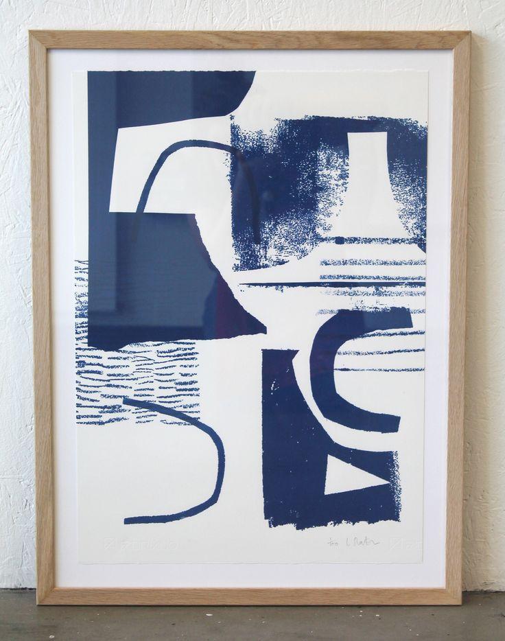 Assemble/Configure-Cobalt- NEW Limited Edition Prints Laura Slater 2014