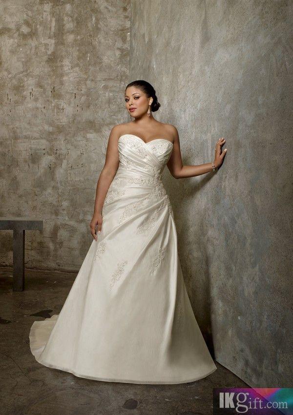 Gathered Detail Wedding Dresses
