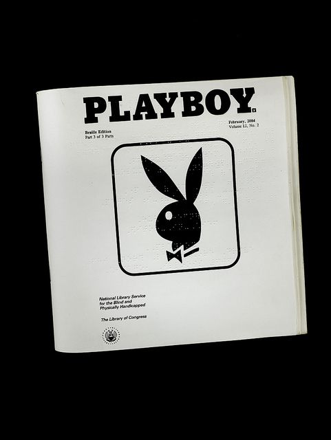 """Smithsonian National American History Museum. [Playboy from the Ray Charles Collection] """"What makes our jazz history curator laugh? Ray Charles really did read this for the articles:"""""""