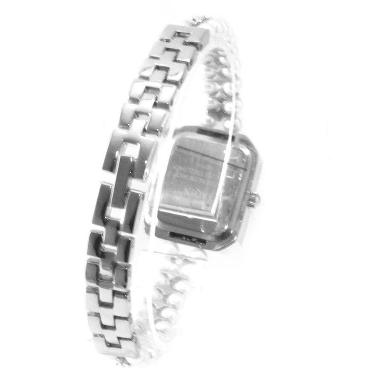 FW926B PNP Shiny Silver cassa dell'orologio quadrante bianco Donne Immited perla del braccialetto della vigilanza