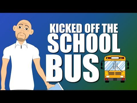 Fighting & Bullying is trouble on the School Bus for safety! (School Bus Safety Cartoon) - YouTube