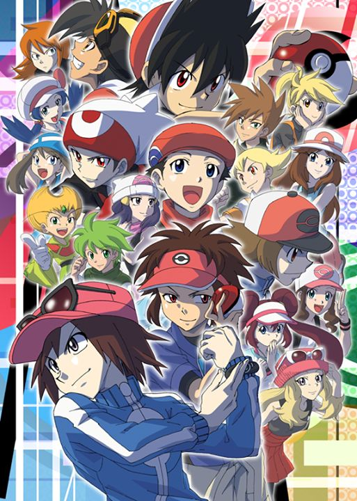 Pokemon Special Protaganists