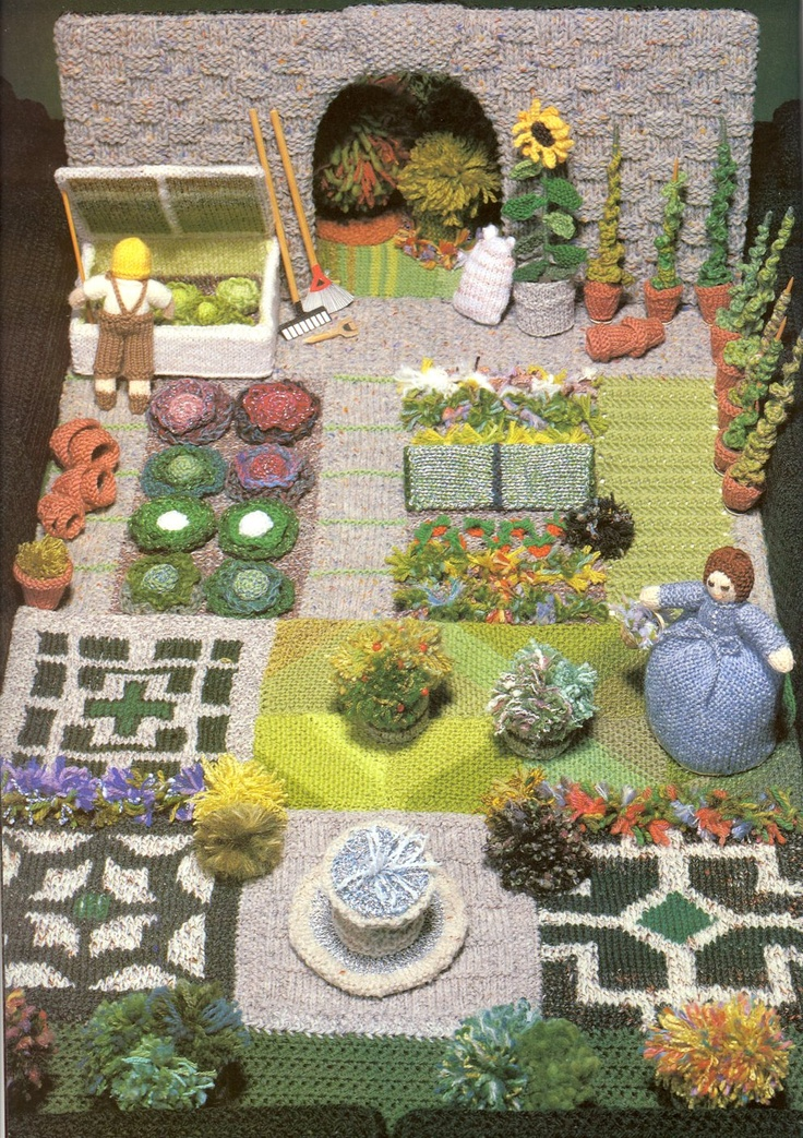17 best images about knitting project garden amp house on