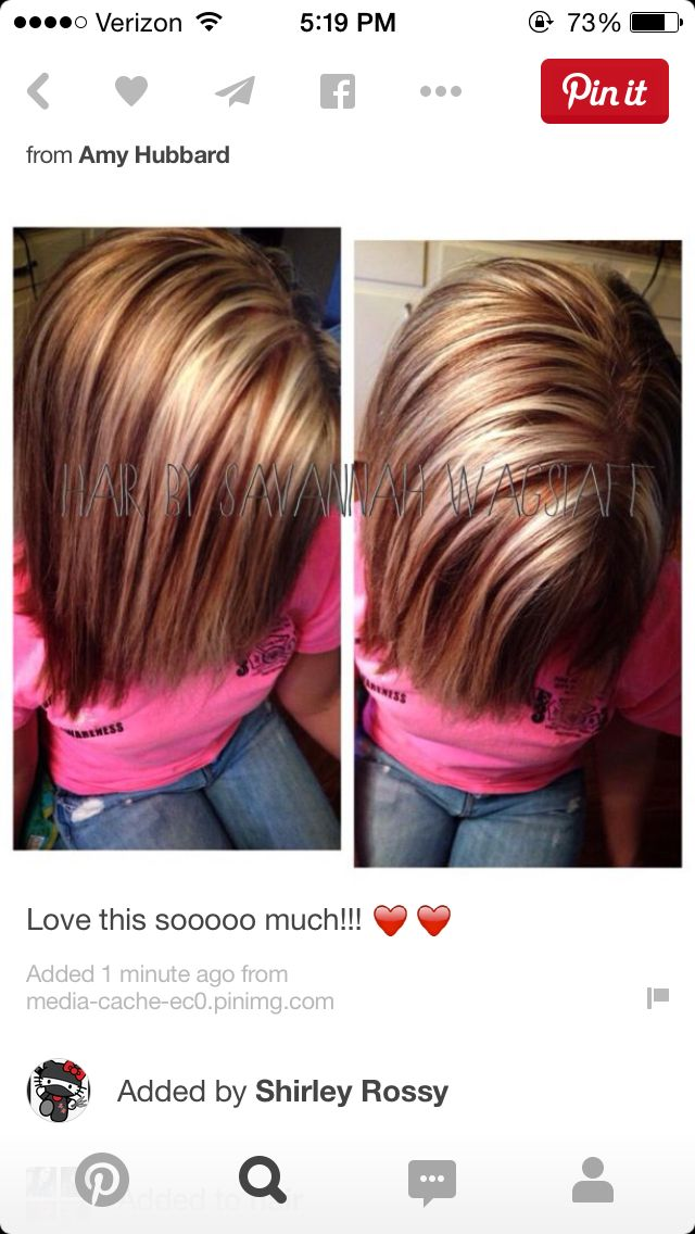 thick blonde highlights on brown hair