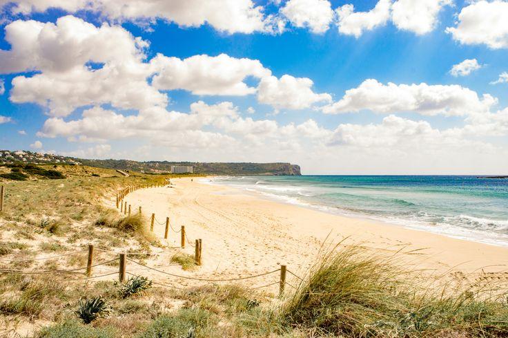 On the beach of Son Bou - On the beach of Son Bou - Menorca - Spain