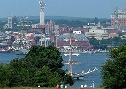 New London CT...U S Navy days
