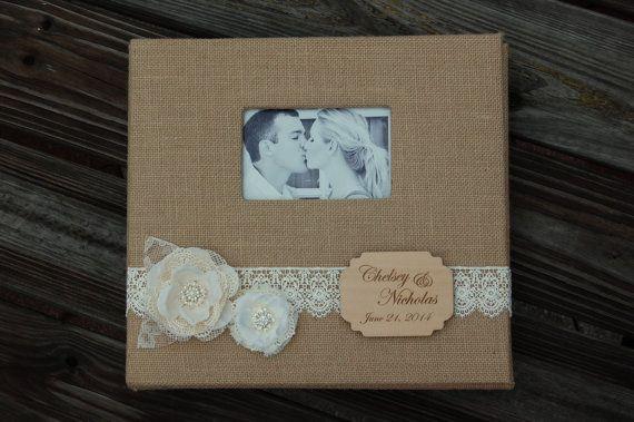 Rustic Wedding Photo Album / Rustic Photo by MyRusticWeddings
