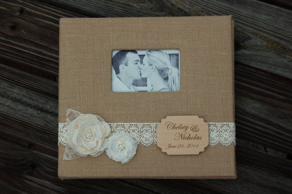 Rustic Wedding Photo Album / Rustic Photo by MyRusticWeddings