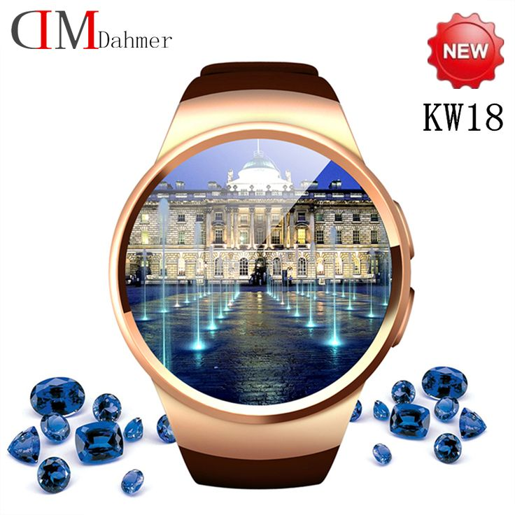 2016 heißesten Smart Uhren KW18 Voll IPS Screen bluetooth smartwatch Fitness Tracker Apps Für IOS Android mp3 PK M8 L10 Geak LEM1 //Price: $US $59.38 & FREE Shipping //     #smartuhren