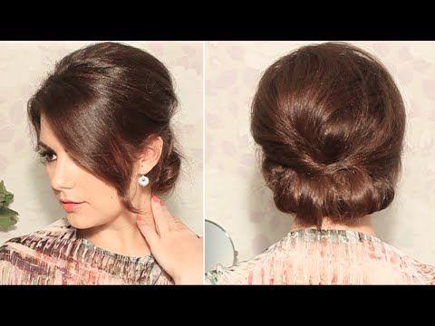 Wedding Hair Inspiration & Tutorials: The Classic Chignon