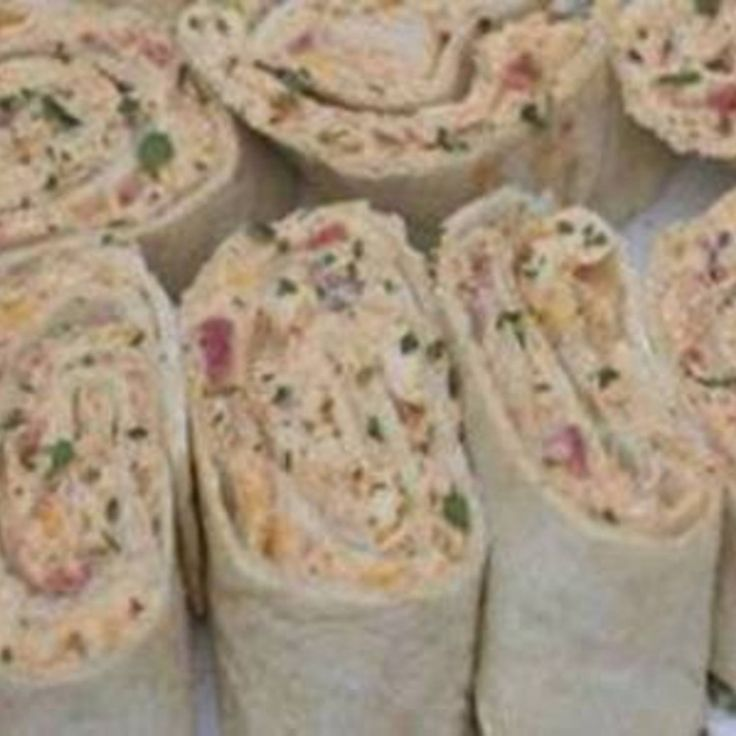 Mexican Chicken Salad Wraps- Pinwheels Recipe | Just A Pinch Recipes