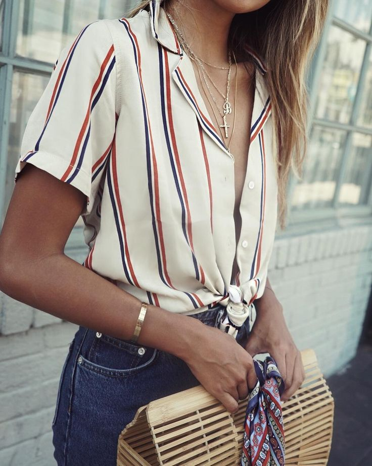 """Shop Sincerely Jules on Instagram: """"Style tip: knot up the Jackie top. ❤️ 