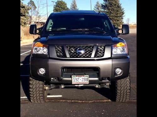 Used Nissan Titan Trucks, Vans or SUVs with transmission Automatic and miles 6900