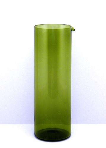 Nuutajarvi Notsjo Finland Kaj Franck Cylindrical Glass Pitcher Arabia | eBay