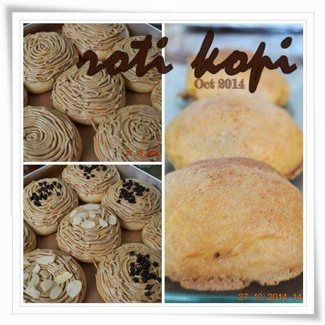 First batch of taiwanese bread - Roti Kopi (Coffee Bread)   bundanya asa